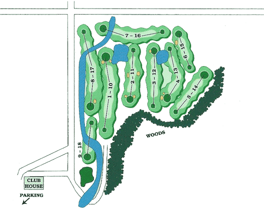 Deerfield Country Club Map